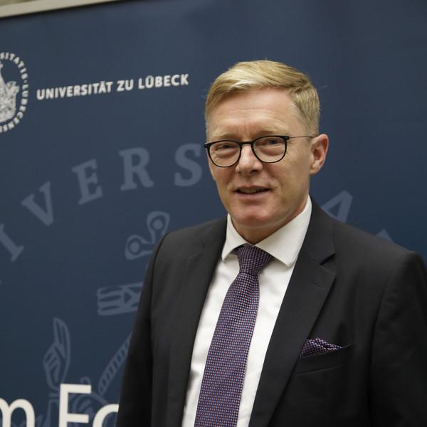 Prof. Dr. Christopher Baum (Foto: Rene Kube / Universität zu Lübeck)