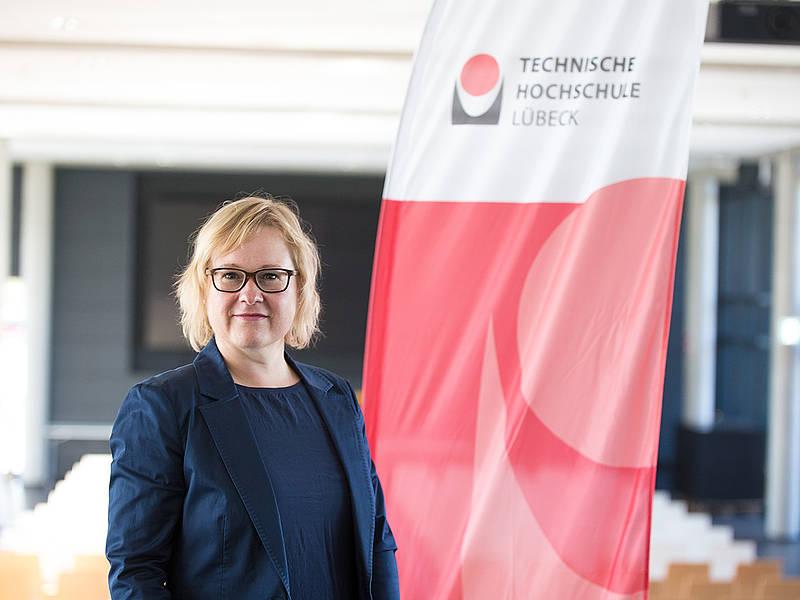 Bereits im April 2018 wählte der Senat der TH Lübeck Yvonne Plaul zur neuen Verwaltungschefin an der TH Lübeck. Foto: TH Lübeck