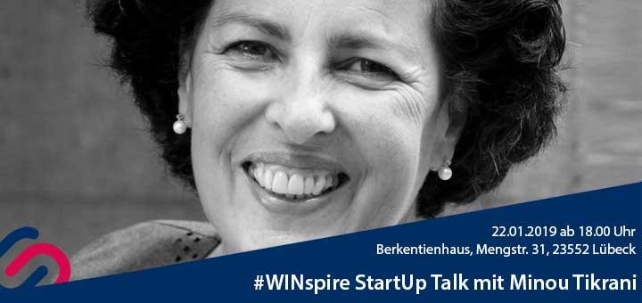 #WINspire StartUp Talk Banner Minou Tikrani