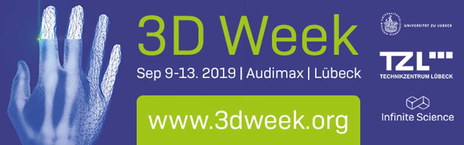 3D-Week @ Audimax, BioMedTec Wissenschaftscampus