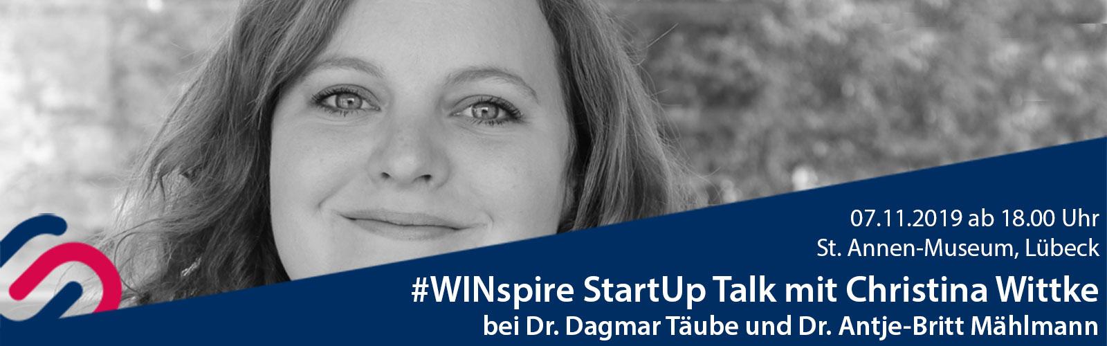#WINspire StartUp Talk mit Christina Wittke
