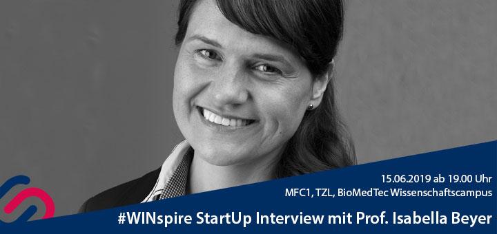 #WINspire StartUp Talk Banner Isabella Beyer