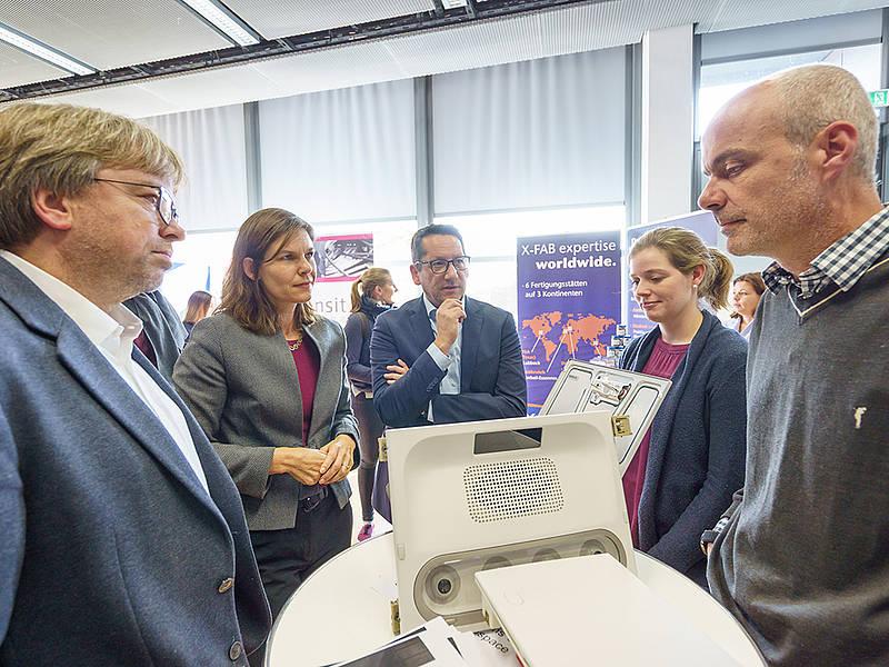 Informationsgespräche der Präsidien mit Unternehmensvertretungen. Foto: Guido Kollmeier