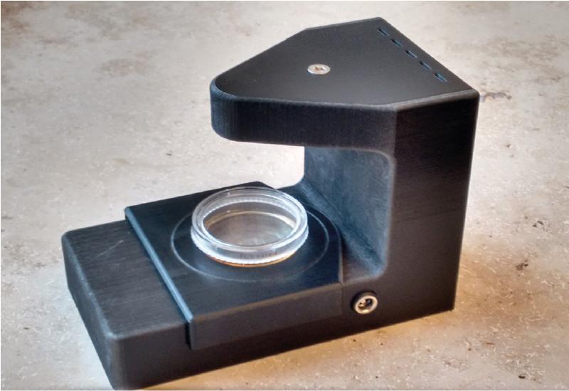 © Fraunhofer EMB Das holografische Mikroskop ermöglicht ein automatisches, dreidimensionales Tracking der Immunzellen in Echtzeit.