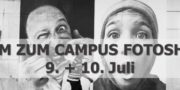 Campus Fotoshoot Seite an Seite – Inside Out Project