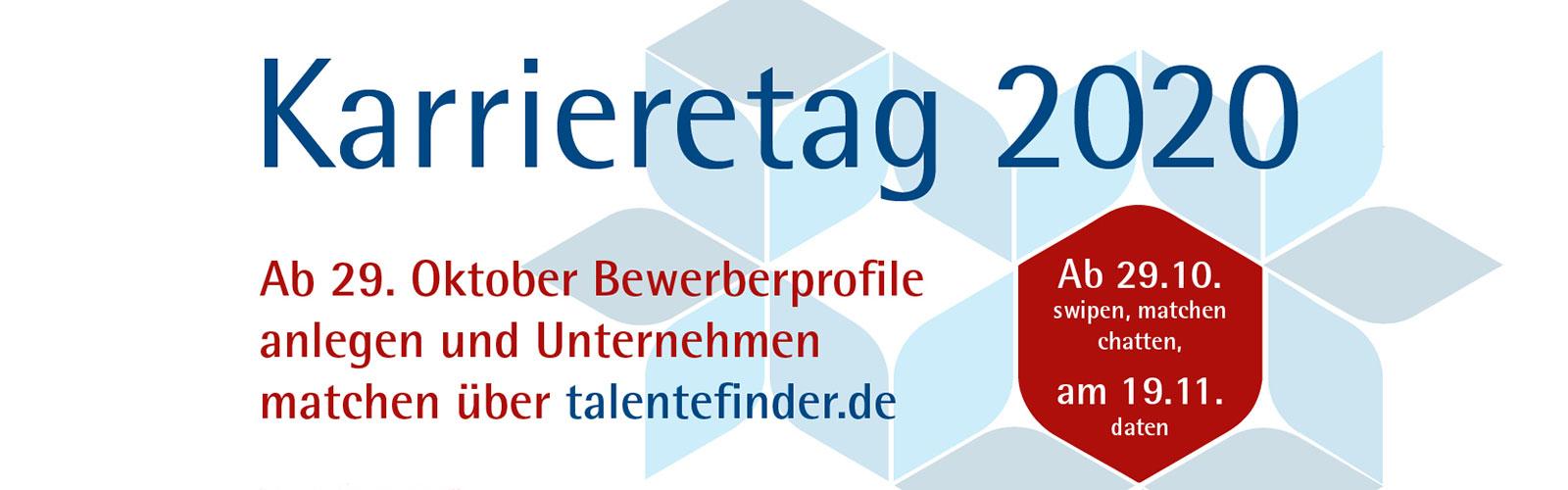 Karrieretag 2020 - Matching @ online