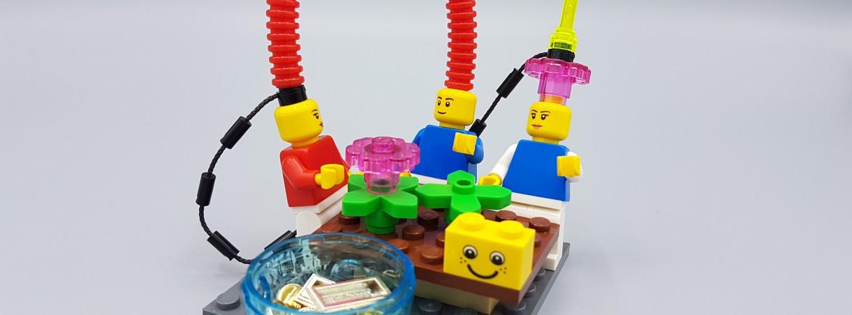 LEGO® SERIOUS PLAY® für Start-ups (Online)