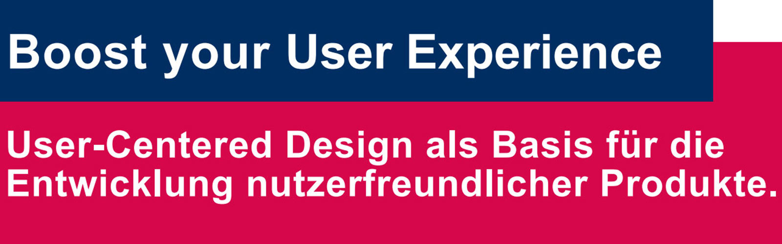 Boost your User Experience @ online
